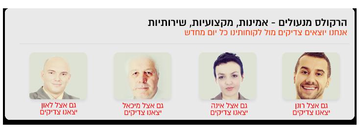 לקוחות מרוצים של הרקולס מנעולן בתל אביב